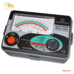 Đồng hồ đo điện trở đất Kyoritsu 4102A